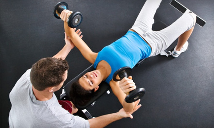Model Trainers - Desierto Plaza: Three, Six, or Nine Personal-Training Sessions at Model Trainers