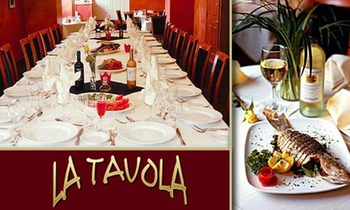 La Tavola Ristorante Italiano - Little Italy: $10 for $25 Worth of Italian at La Tavola Ristorante Italiano