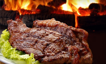 All-You-Can-Eat Dinner for 2 (a $69.90 value) - Angus Grill Brazilian Steakhouse in Houston