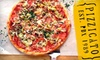 Pizzicato Pizza - Multiple Locations: $10 for $25 Worth of Gourmet Pizza, Paninis, Salads, and Thirst Quenchers at Pizzicato Pizza