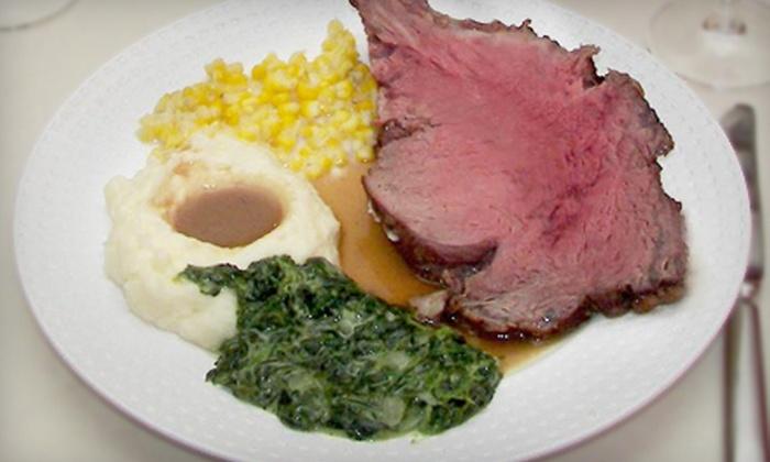 Prime Rib Steakhouse - Downtown: $20 for $40 Worth of Elegant American Cuisine at Prime Rib Steakhouse