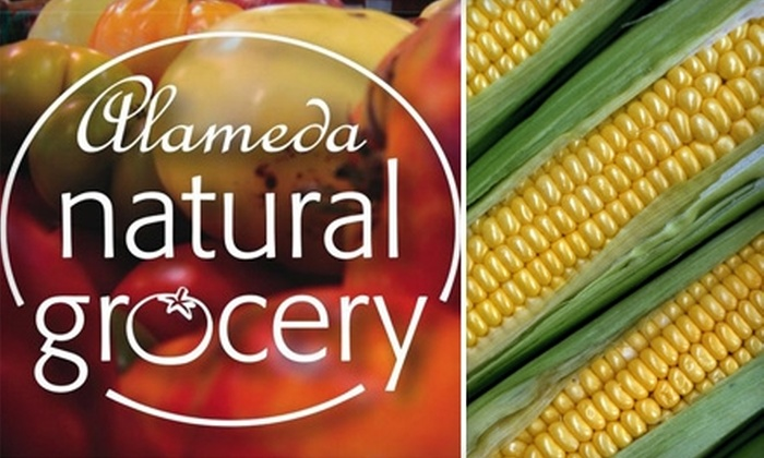 Alameda Natural Grocery - San Francisco: $20 for $40 Worth of Natural and Organic Groceries at Alameda Natural Grocery
