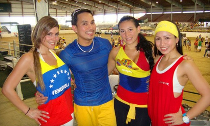 Tropa Z Fitness - Multiple Locations: 5 or 10 Zumba Classes from Tropa Z Fitness (Up to 60% Off)