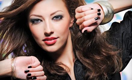 eikon Hair Lounge: 1 Shellac Manicure - eikon Hair Lounge in Wexford