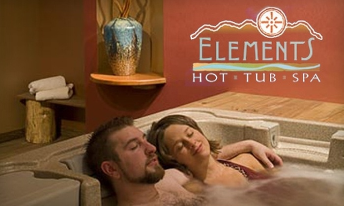Elements Hot Tub Spa - Amherst: $30 for a One-Hour Private Hot-Tub Spa Session for Two at Elements Hot Tub Spa (Up to $60 Value)