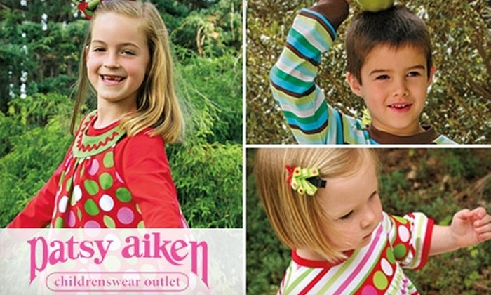 Patsy Aiken Designs - Raleigh / Durham: $25 for $50 Worth of Upscale Kids' Clothing During the Patsy Aiken Raleigh Outlet Winter Sale