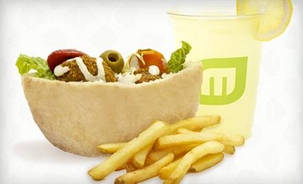 $6 Groupon to Maoz Vegetarian - Maoz Vegetarian - Hoboken in Hoboken