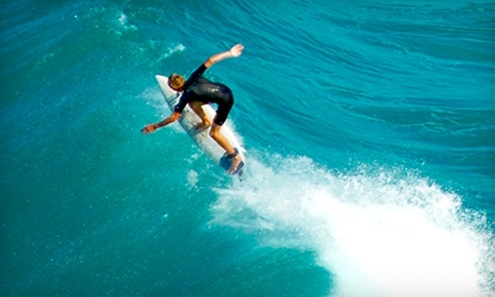 Thalia Surf Shop - Laguna Beach: $22 for a Surfboard and Wetsuit Rental from Thalia Surf Shop in Laguna Beach ($45 Value)