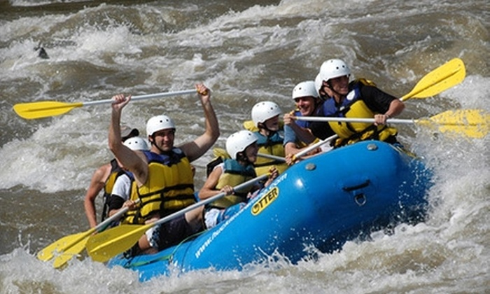 Huck Finn Rafting Adventures - Hot Springs: $22 for a Five-Mile Whitewater-Rafting Trip Guided by Huck Finn Rafting Adventures in Hot Springs (Up to $48 Value)