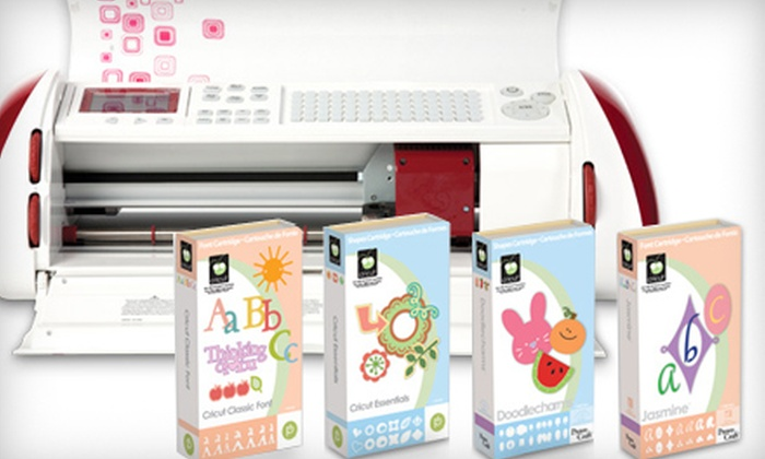 Provo Craft - Downtown Santa Cruz: $179 for a Cricut Expression Die-Cutter Package from Provo Craft ($379.99 Value)
