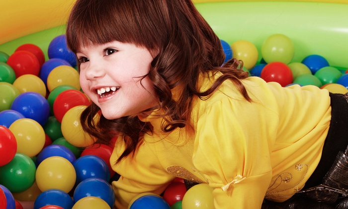 Wazoo's - Austin: Three or Five Indoor Playground Visits at Wazoo's (Up to 52% Off)