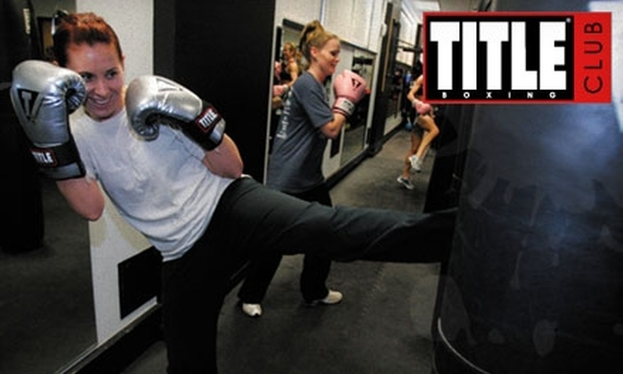 Title Boxing Club - Saint Louis: $25 for One-Month Unlimited Pass to Title Boxing Club
