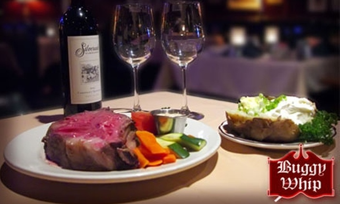 The Buggy Whip Restaurant - Westchester: $20 for $40 Worth of Juicy Steak, Drinks, and More at Buggy Whip in Westchester