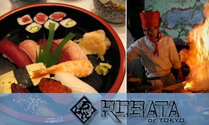 Robata of Tokyo - Allentown: $19 for $40 Worth of Sushi, Hibachi, and More at Robata of Tokyo