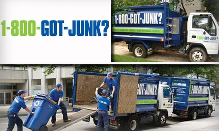1-800-GOT-JUNK - Indianapolis: $50 for $100 Worth of Junk Removal From 1-800-GOT-JUNK