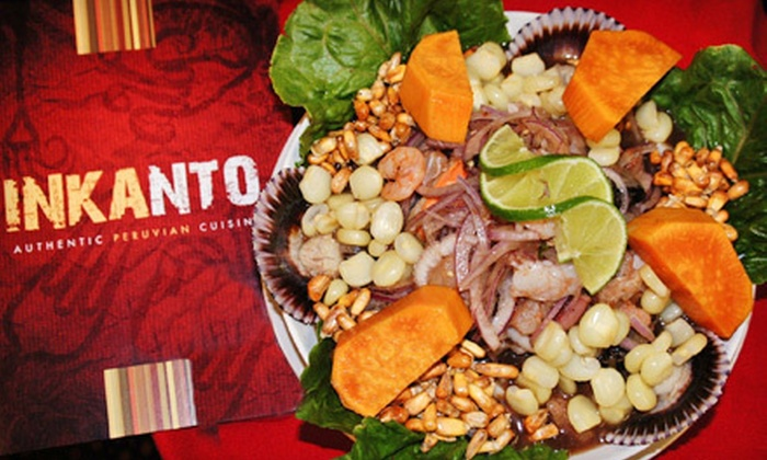 Inkanto - Sarasota: Peruvian Dinner for Two or Four at Inkanto (Up to 57% Off)