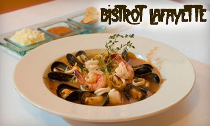Bistrot Lafayette - Old Town: $25 for $50 worth of French Cuisine and Wine at Bistrot Lafayette