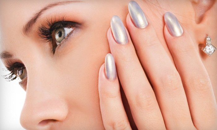 Posh and Polished Nail Spa - Hunters Point,Long Island City: One or Three Basic Mani-Pedis at Posh and Polished Nail Spa in Long Island City (Up to 72% Off)