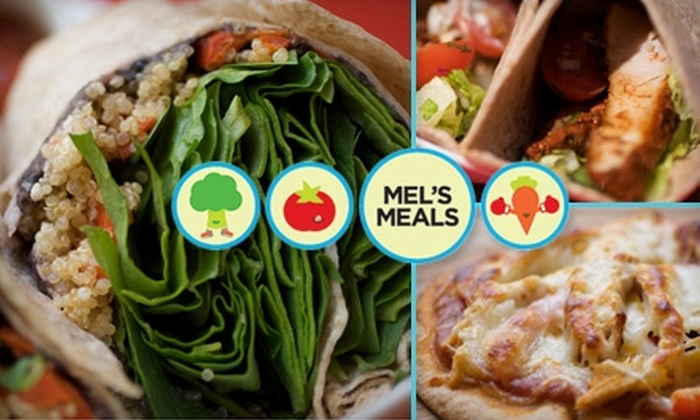 Mel's Meals - Old West Austin: $10 for $20 Worth of Healthy Prepared Meals at Mel's Meals