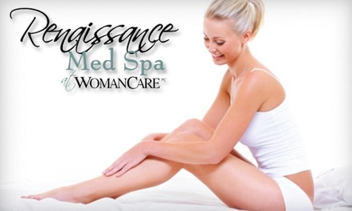 Renaissance Med Spa - Schaumburg: Laser Hair-Removal Treatments or Botox at Renaissance Med Spa in Schaumburg. Choose from Three Options.