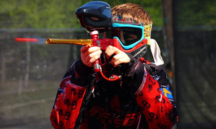 Genesis Paintball - Keystone: $36 for Two All-Day Admissions, Two Rental Packages with Equipment and All-Day Air, and 1,000 Paintballs at Genesis Paintball in Odessa ($74 Value)