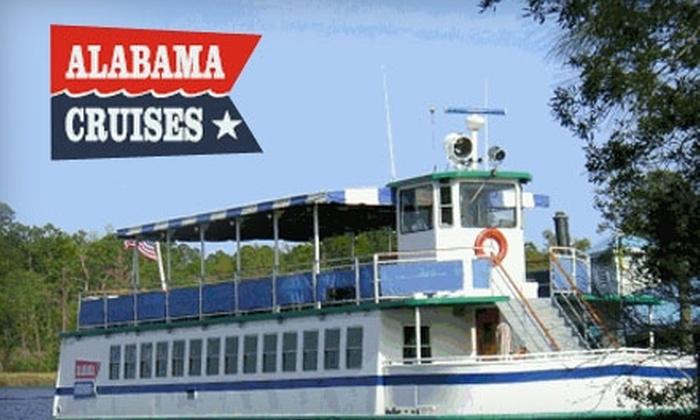 Alabama Cruises - Bayou La Batre: $49 for a Dinner Cruise for Two from Alabama Cruises ($98 Value)