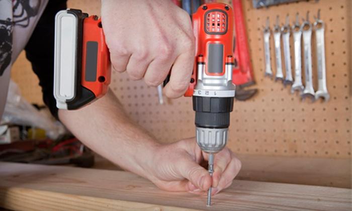 Profixx Services - Dallas: 4 or 10 Man-Hours of Handyman Services from Profixx Services (Up to 73% Off)