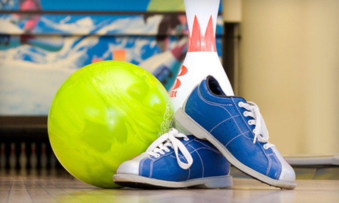 Oasis Bowling Center - Multiple Locations: Two Hours of Bowling with Shoes and Popcorn for 6 or 12 People at Oasis Bowling Center (Up to 58% Off)
