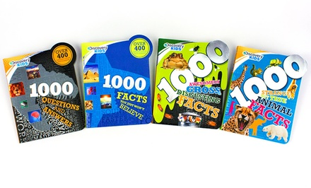 Discovery Kids 4000 Facts 4-Book Set