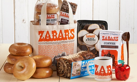 $10 for $20 Worth of Specialty Foods, Coffee, and Gift Baskets from Zabar's