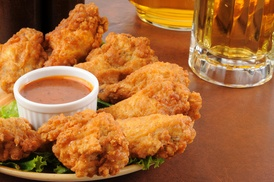 Blinkys: $4 Off Two 5 Piece Chicken Tenders Snack at Blinkys