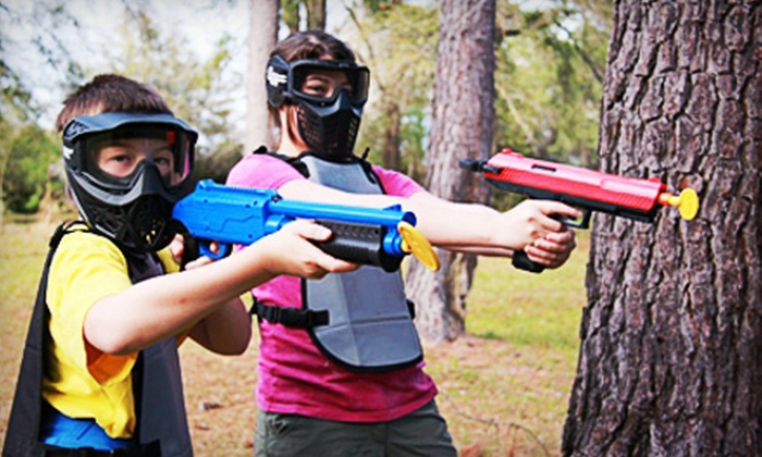 Tallahassee Paintball Sports - Havana: Two-Hour Paintball Session with Equipment for 6 or 10 at Tallahassee Paintball Sports (Up to 53% Off)