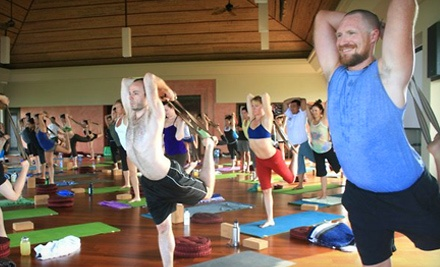 $49 for 10-Class Yoga Punch Card at Shanti Hot Yoga ($121 Value)