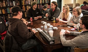 Table Top Cafe: Dinner and Board Games at Table Top Cafe (Up to 42% Off). Two Options Available.