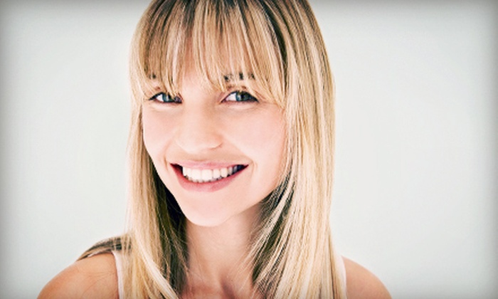 Valerie Brignani at Salon Glow - Plumgate: Haircut Package with Optional Highlights or Color from Valerie Brignani at Salon Glow (Up to 62% Off)