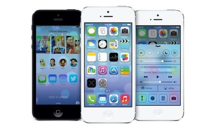 reconditionn certifi apple iphone 5 32go groupon. Black Bedroom Furniture Sets. Home Design Ideas