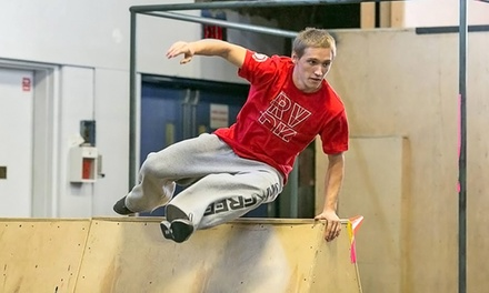 $39 for Four Beginner Drop-In Classes at Revolution Parkour ($60 Value)