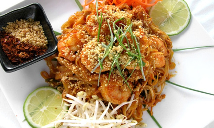 Mon Thong Thai Restaurant - Central City: Dinner at Mon Thong Thai Restaurant (Up to Half Off). Two Options Available.