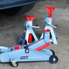 2-Ton Floor Jack and Stands Combo Kit for Vehicles
