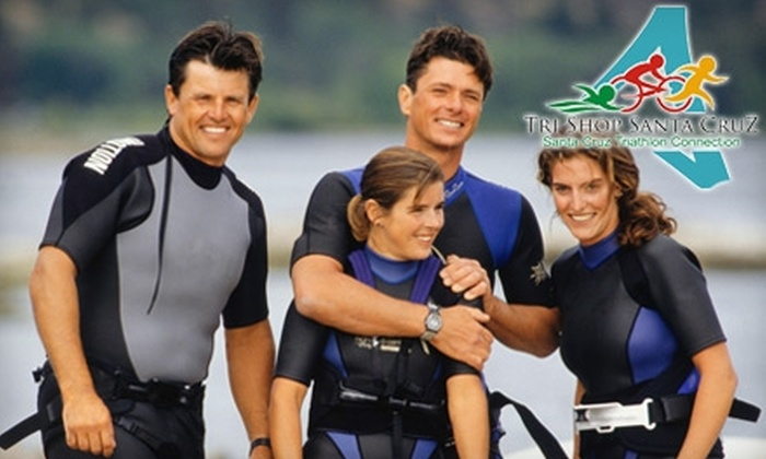 SUP Shack - Twin Lakes: $20 for $40 Worth of Triathlon Gear or Rentals at Tri Shop Santa Cruz