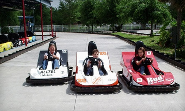 Easy Street Family Fun Center - Ocala: Go-Kart Outing with Lunch for Two or Four at Easy Street Family Fun Center (51% Off)