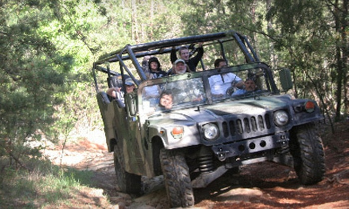 Outdoor Adventures of the Smokies - Hendron: $24 for an Off-Road Humvee Excursion from Outdoor Adventures of the Smokies ($49 Value)
