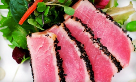 $55 Groupon for American Fusion Fare for Parties of 2 or More  - Barringtons in Hauppauge