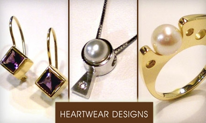Heartwear Designs - Downtown Birmingham: $30 for $85 Worth of Artistic Jewelry and Glass at Heartwear Designs