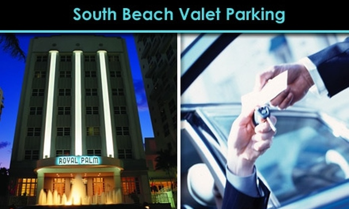 Beachsports Valet - Flamingo / Lummus: $15 for One Night of Valet Parking on Miami Beach from Beachsports Valet ($39 Value)