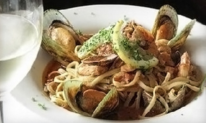 Buon Gusto Ristorante & Bar - Mission Hills: $9 for $20 Worth of Italian Fare or $16 for Two Tickets to a Wine Tasting ($32 Value) at Buon Gusto Ristorante & Bar in Mission Hills