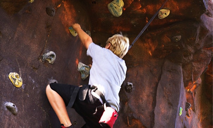 Niagara Climbing Center - North Tonawanda: Indoor Rock-Climbing Outing for Two, Three, or Four at Niagara Climbing Center in North Tonawanda (Up to 56% Off)