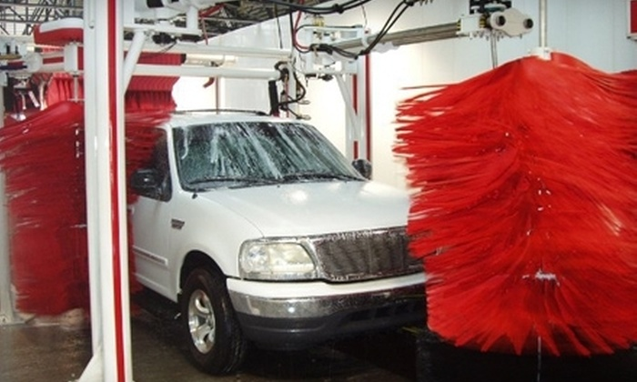 The Carwasher - Multiple Locations: $29 for Three Full-Service Best Car Washes at The Carwasher ($59.97 Value)