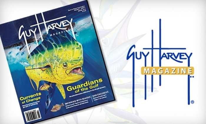"Guy Harvey Magazine - Pensacola: $12 for One-Year Subscription to ""Guy Harvey Magazine"" ($24.95 Value)"
