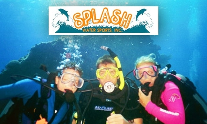 Splash Water Sports Inc. - Beechville: $25 for a Discover Scuba Intro Class for Two Divers at Splash Water Sports ($50 Value)